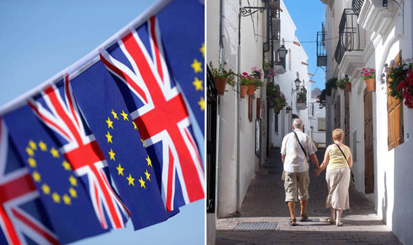 The British pensioners expats see their pension cut off by hundred of pounds since Brexit