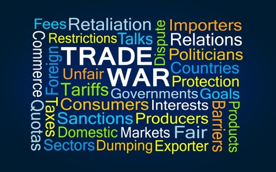 December, 3 - new trade tariffs sure shook up the markets.
