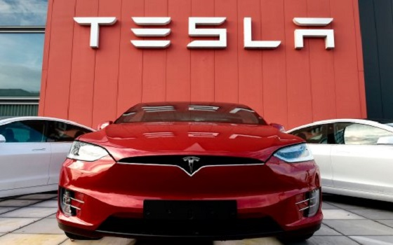 January, 31 - TSLA grew by more than 10 percent... again.