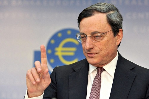 Eyes on ECB's Draghi ahead of the latest interest rate decision