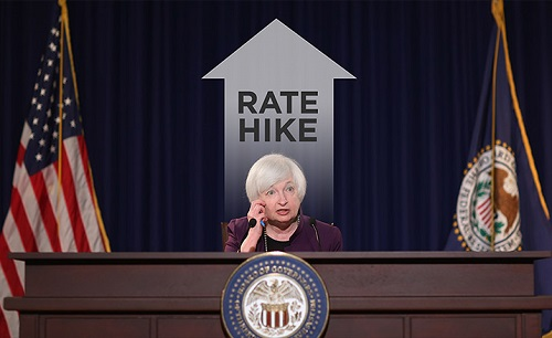 The U.S. fed is expected to raise its interest rate this week